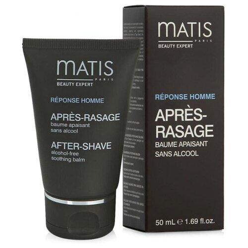 Бальзам после бритья Успокаивающий Matis, 50 мл успокаивающий бальзам после бритья lierac homme 75 мл