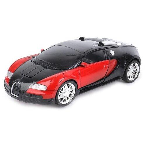 Купить Робот-трансформер Пламенный мотор Космобот Калисто 870463 черный/красный, Роботы и трансформеры