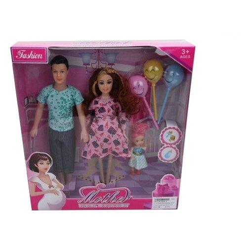 Купить Набор кукол China Bright Pacific Семья, 1801708, Куклы и пупсы