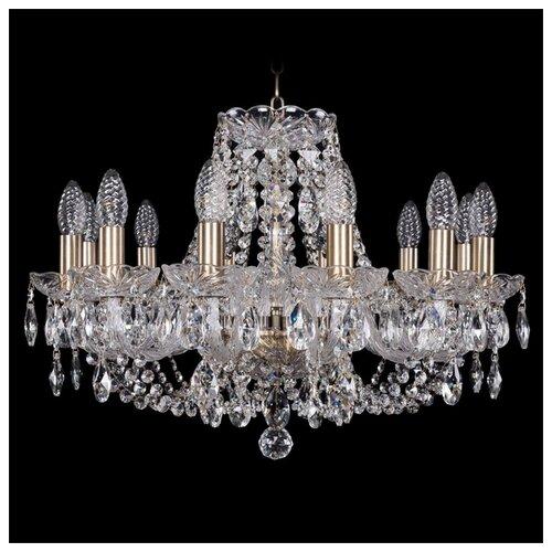 Люстра Bohemia Ivele Crystal 1406 1406/12/195/Pa, E14, 480 Вт люстра bohemia ivele crystal 1406 1406 12 300 pa
