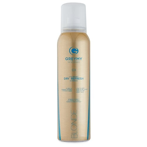 GREYMY сухой шампунь Volumizing Dry Refresh Shampoo Blonde, 150 мл