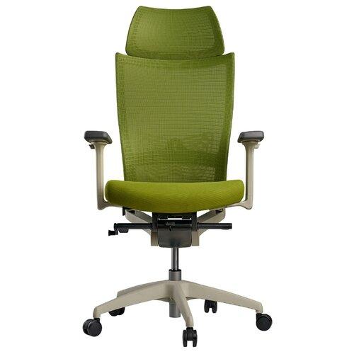 Эргономичное компьютерное кресло Schairs ZEN2-M01W GREEN