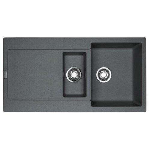 цена на Врезная кухонная мойка 97 см FRANKE MRG 651 графит