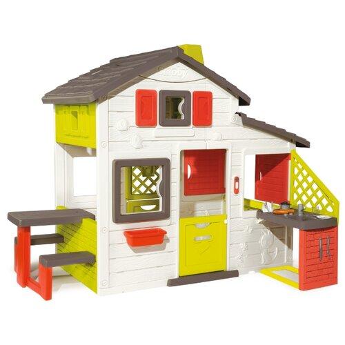 Купить Домик Smoby Для друзей с кухней 810200, Игровые домики и палатки