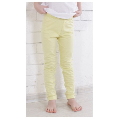 Купить Легинсы Jewel Style GB 10-130 размер 92, св. желтый, Брюки и шорты