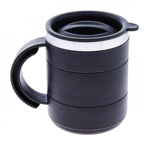 Термокружка TUNDRA Каркан, 0.45 л черный