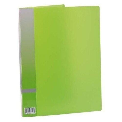 Panta Plast Папка с прижимным механизмом, А4 зеленый
