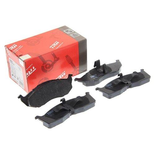 Фото - Дисковые тормозные колодки передние TRW GDB4091 для Chrysler, Dodge (4 шт.) дисковые тормозные колодки передние ferodo fdb4446 для mazda 3 mazda cx 3 4 шт