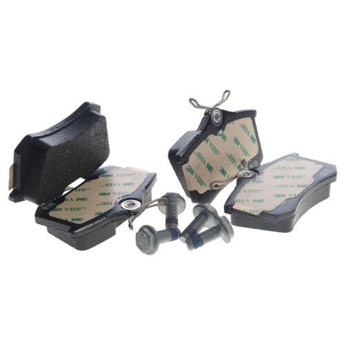 Дисковые тормозные колодки задние ATE 13.0460-2820.2 для Volkswagen, Audi, SEAT, Skoda (4 шт.) дисковые тормозные колодки передние marshall m2621974 для skoda volkswagen seat audi 4 шт