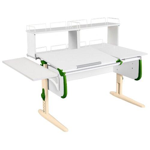 Стол ДЭМИ СУТ-25-02Д2 145x82 см белый/зеленый/бежевый стол дэми сут 25 02д2 145x82 см белый зеленый бежевый