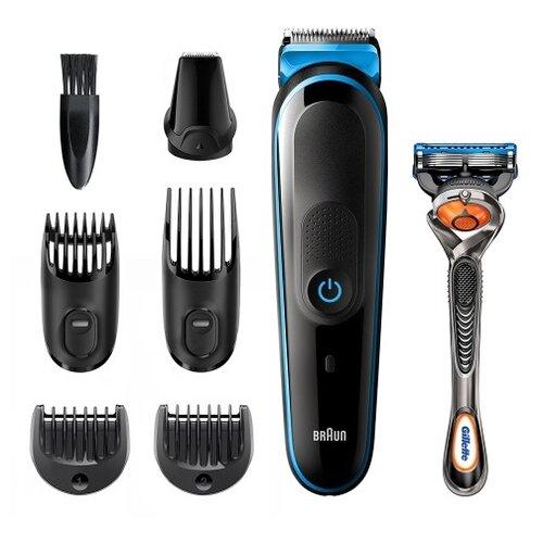 Набор для стрижки Braun MGK3245 black/blue