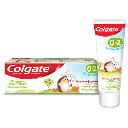 Купить Зубная паста Colgate Нежные фрукты 0-2 лет, 40 мл, Гигиена полости рта