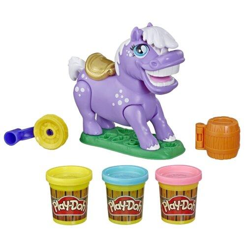 Фигурка Hasbro Play-Doh Пони-трюкач E6726 фигурка hasbro модные близнецы