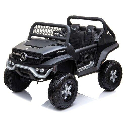 Купить RiverToys Багги Mercedes-Benz Unimog Concept P555BP 4WD, черный глянец, Электромобили