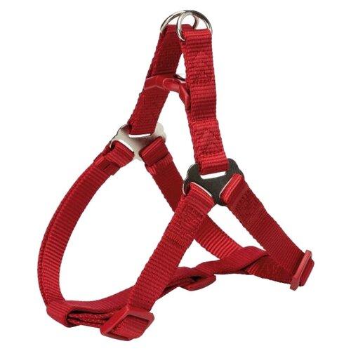 Шлейка TRIXIE Premium One Touch M красный шлейка trixie premium one touch m индиго