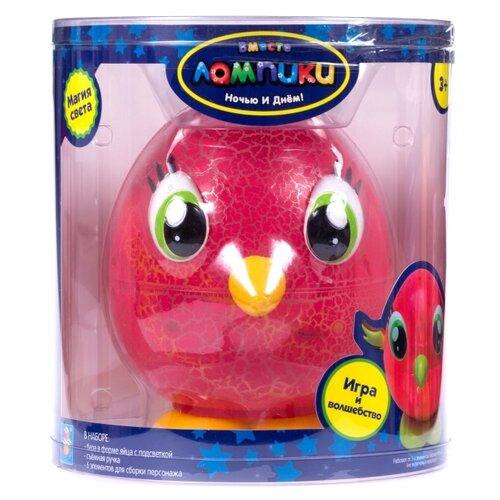 Фото - Ночник 1 TOY Лампики Попугай Т16364 (банка), цвет арматуры: желтый, цвет плафона: разноцветный ночник 1 toy лампики попугай т16360 коробка