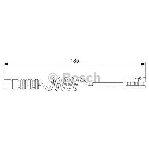 Датчик износа тормозных колодок передний Bosch 1987473007 для Mercedes-Benz Sprinter, Mercedes-Benz Sprinter Classic, Volkswagen LT28, Volkswagen LT46