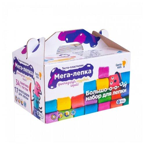 Пластилин Genio Kids Мега лепка (TA1084)
