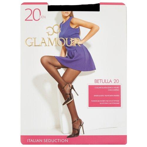 Колготки Glamour Betulla 20 den, размер 5-XL, nero (черный) колготки glamour style 5 20 den медный
