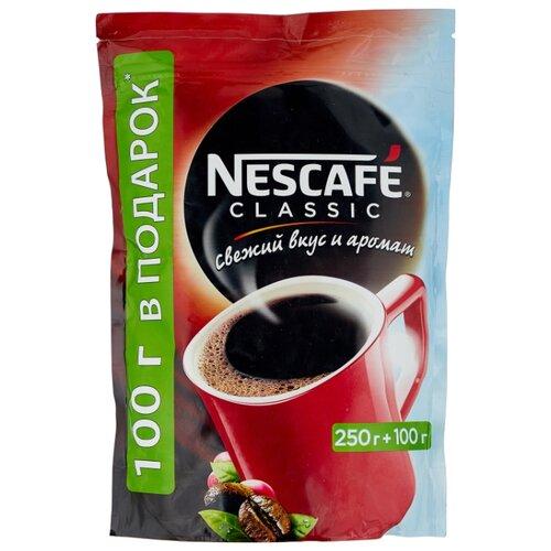 Кофе растворимый Nescafe Classic гранулированный, пакет, 350 г nescafe classic crema кофе растворимый 70 г пакет
