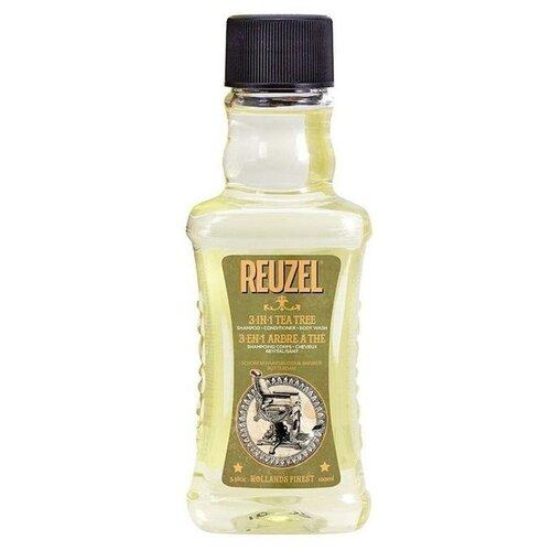 Купить REUZEL Шампунь 3 в 1 Tea Tree Shampoo, 100 мл.
