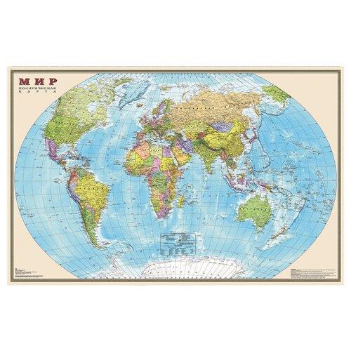 DMB Политическая карта Мира 1:35 (4607048958285)