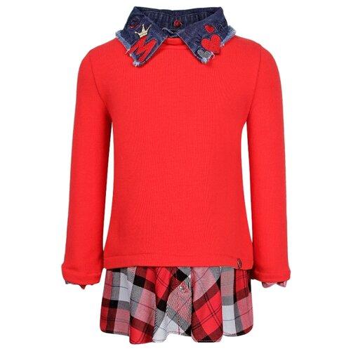 Свитшот Elsy размер 80, красный платье elsy размер 80 розовый