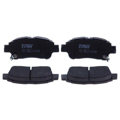 Дисковые тормозные колодки передние TRW GDB3218 для Toyota Yaris (4 шт.)