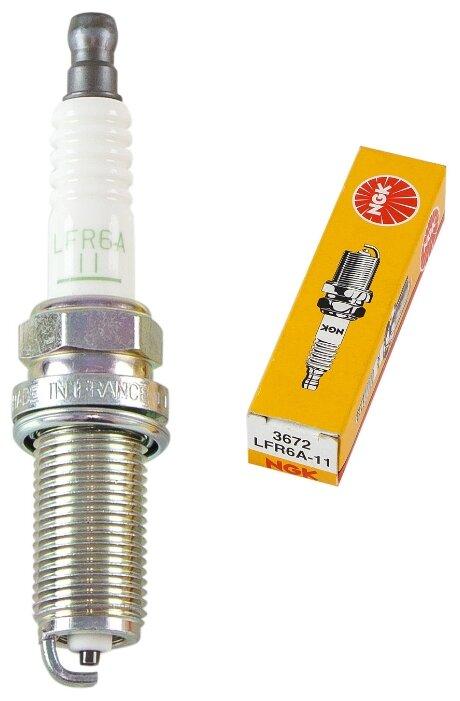 Свеча зажигания NGK 3672 LFR6A-11