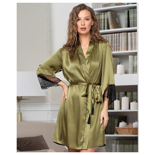 Халат MIA-AMORE размер S/M оливковый халат домашний mia mia mia mia mp002xw1aq47