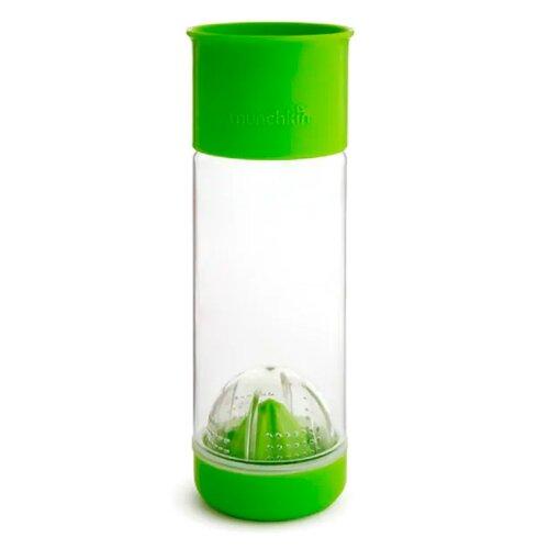 Бутылка для безалкогольных напитков, для воды Munchkin Miracle 360° Fruit Infuser Cup (591 мл) 0.59 пластик зеленый