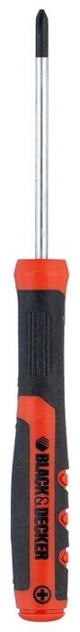 Отвертка под шлиц phillips 0ph x 60мм BLACK+DECKER BDHT0-66493