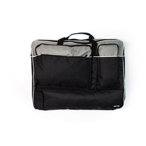 Сумка художника Малевичъ с карманами (195086) серый/черный малевичъ скетч сумка для художника малевичъ 36х46 см
