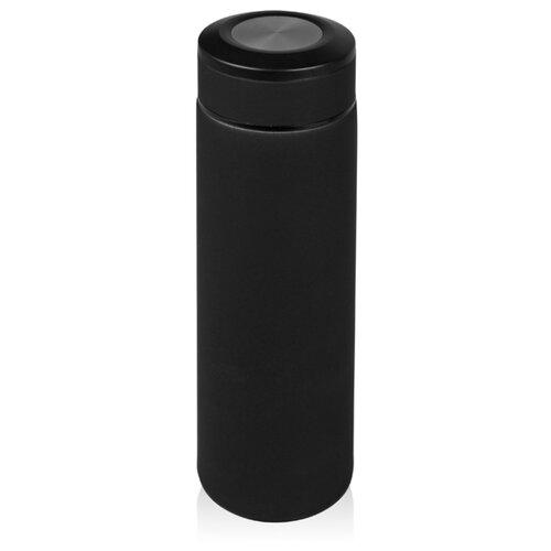 Термос «Confident» с покрытием soft-touch 420мл, черный