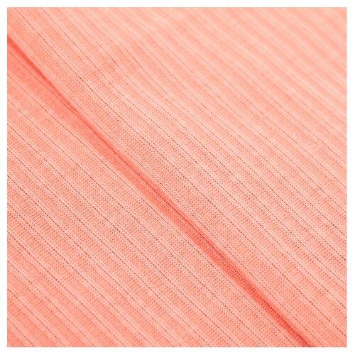 Ткань Арт Узор для пэчворка трикотажная 50 × 50 см персик набор для творчества арт узор ткань для пэчворка трикотаж коралловый 50 50см