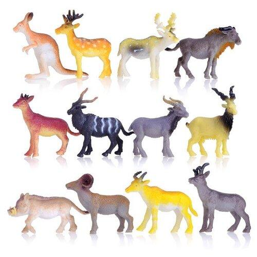 Фото - Фигурки TONG DE Удивительный мир животных Дикие животные T489-D4701 дикие животные мира мир домашних животных комплект из 2 книг
