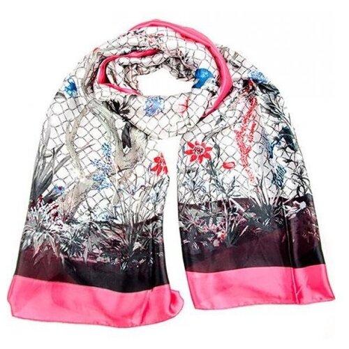 цена на Палантин Vip collection SG2134/35/36 белый/розовый
