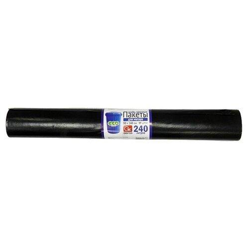 Мешки для мусора GRIFON особо прочные eco friendly 240 л, 10 шт., черный