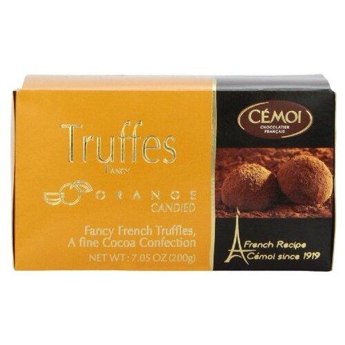 Набор конфет Cemoi Truffes Fantaisie с цукатами из апельсиновой корочки, 200г