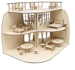 Астра Дом с мебелью L-1127