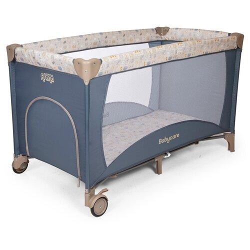 Купить Манеж-кровать Baby Care Arena navy, Манежи
