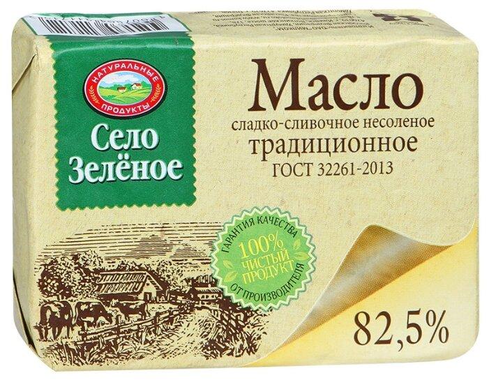 Село Зелёное Масло сливочное Традиционное 82.5%, 175 г