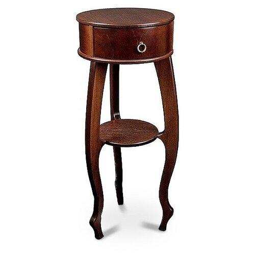 Фото - Подставка интерьерная туалетный Мебелик Берже 12, d: 40 см, темно-коричневый подставка мебелик берже 14 темно коричневый