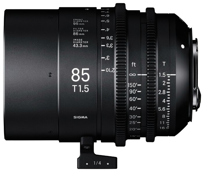 Объектив Sigma 85mm T1.5 FF Canon EF