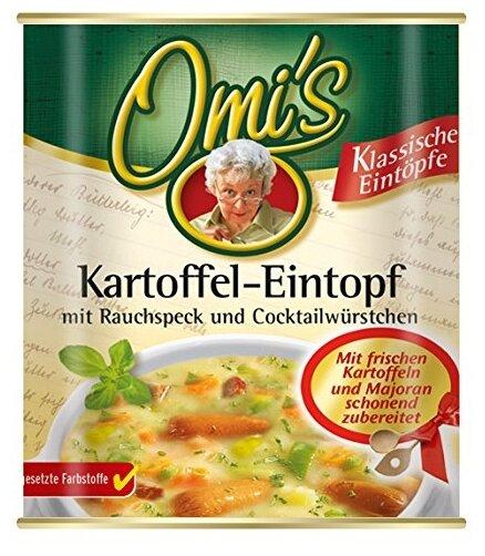 Omi`s Рагу из картофеля с копченостями 800 г