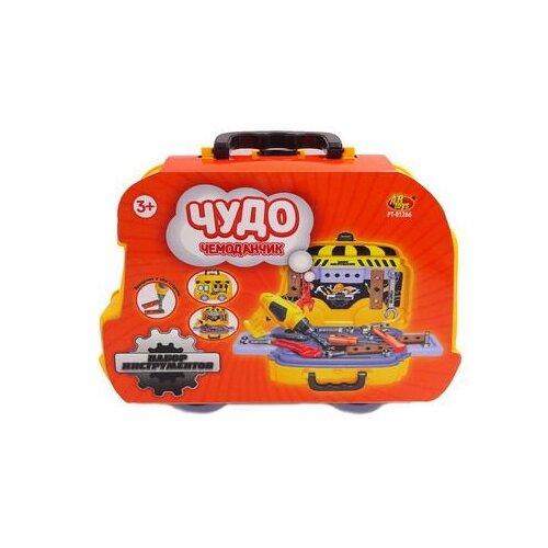 Купить ABtoys Чудо-чемоданчик. Набор инструментов 26 предметов PT-01266, Детские наборы инструментов