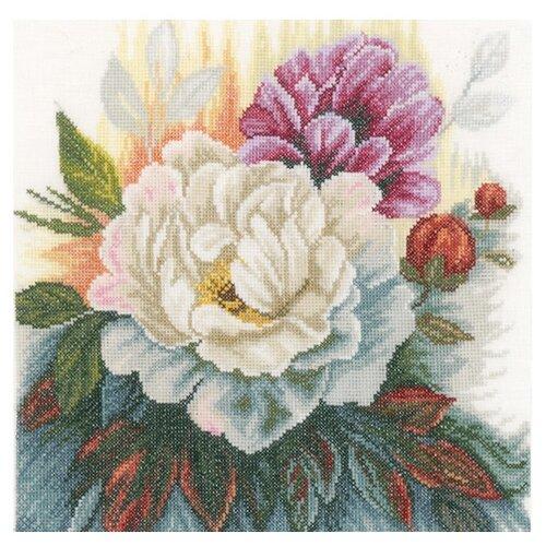 Купить Lanarte Набор для вышивания Белая роза 25 х 25 см (PN-0165377), Наборы для вышивания