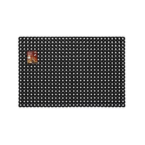 Придверный коврик VORTEX Профи ячеистый, размер: 1.2х0.8 м, черный цена 2017