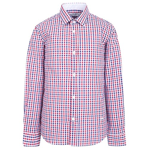Рубашка Paolo Pecora размер 128, красный/синий/белый футболка paolo pecora размер 128 белый