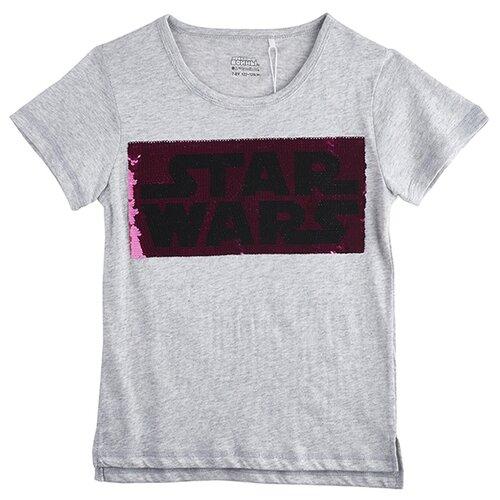 Футболка kari Star Wars размер 7-8, светло-серыйФутболки и майки<br>